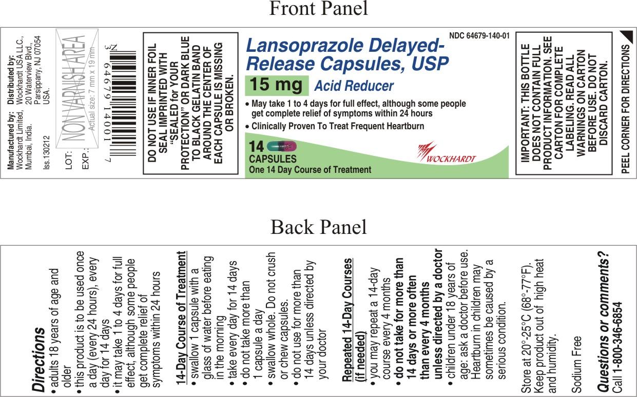 Lansoprazole Capsule, Delayed Release [Wockhardt Limited]
