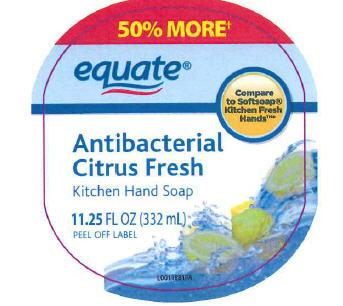 Antibacterial Citrus Fresh (Triclosan) Soap [Wal-mart Stores, Inc]