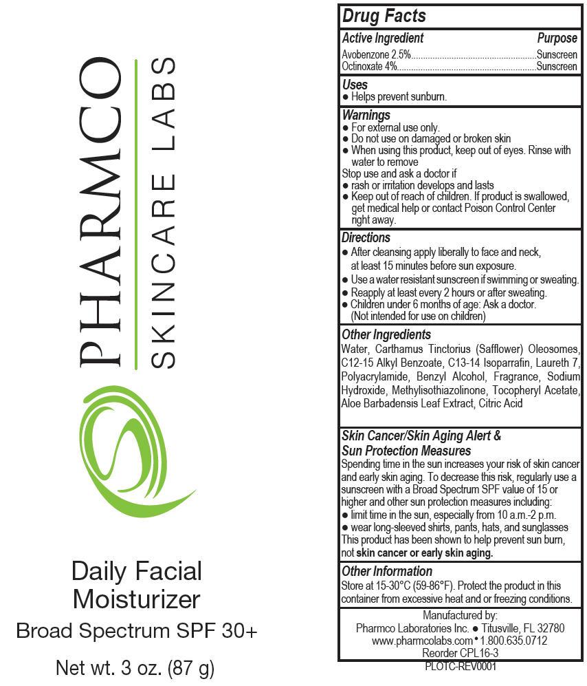 Daily Facial Moisturizer Spf 35 (Octinoxate And Avobenzone) Lotion [Pharmco Laboratories Inc.]