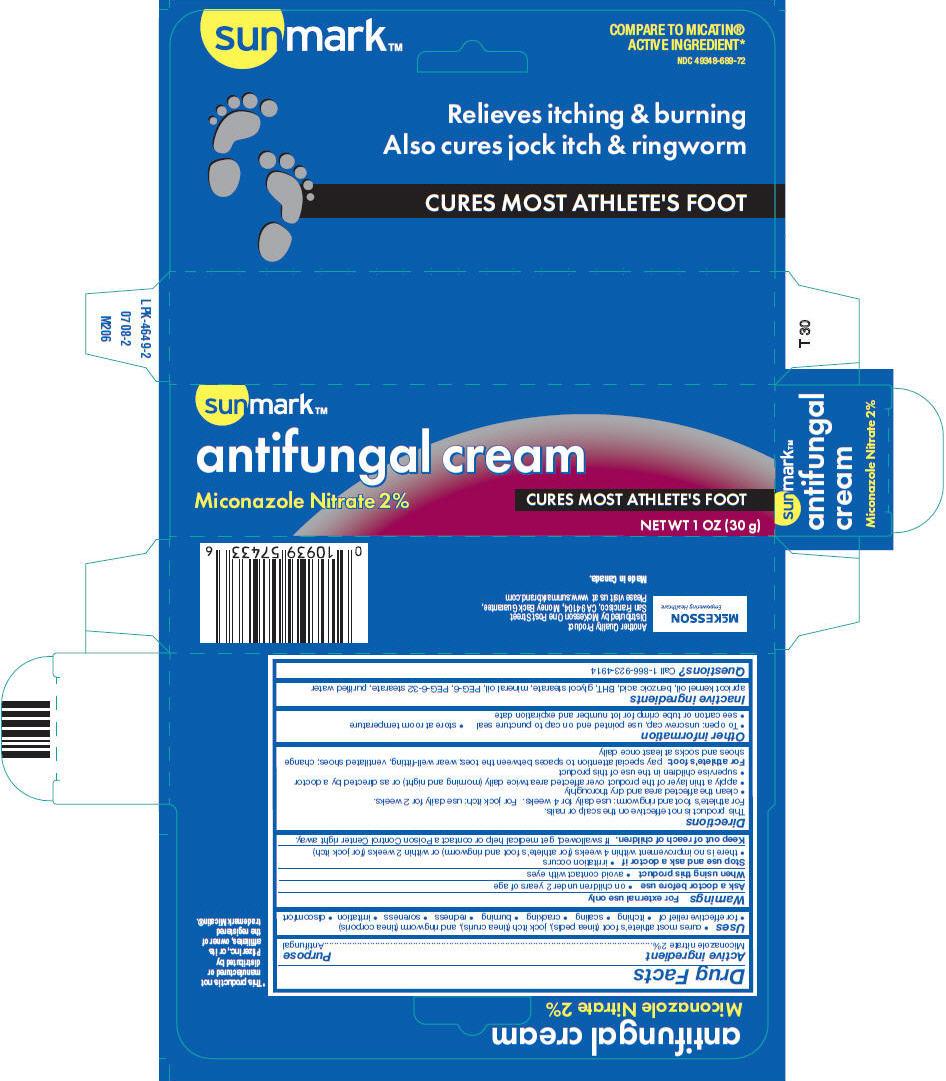 Sunmark Antifungal (Miconazole Nitrate) Cream [Mckesson]