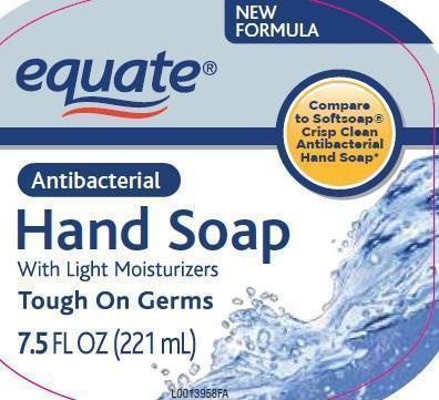 Moisturizing Antibacterial (Benzalkonium Chloride 0.13%) Soap [Wal-mart Stores, Inc]