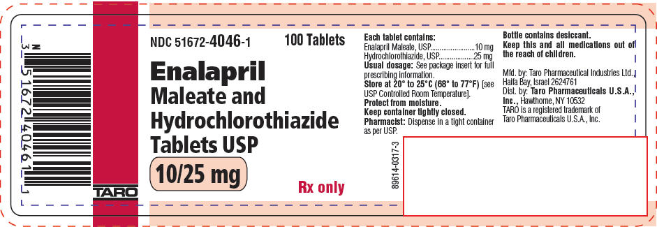 PRINCIPAL DISPLAY PANEL - 10/25 mg Tablet Bottle Label