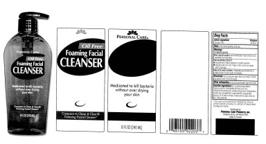 Personal Care Oil Free Foaming Facial Cleanser (Triclosan) Liquid [Personal Care Products, Inc]