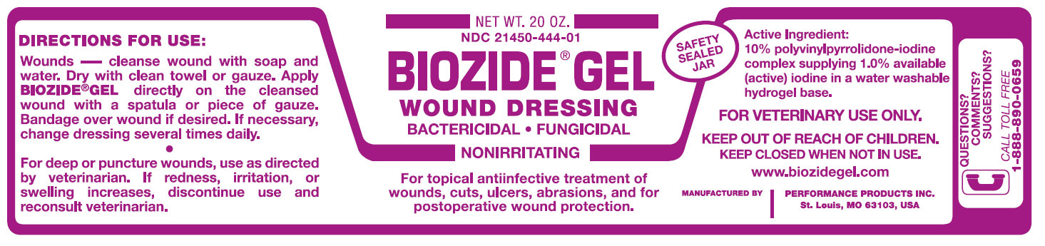 Biozide (Povidone-iodine) Gel [Performance Products, Inc.]