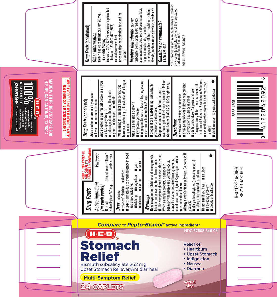 Stomach Relief (Bismuth Subsalicylate) Capsule [H E B]