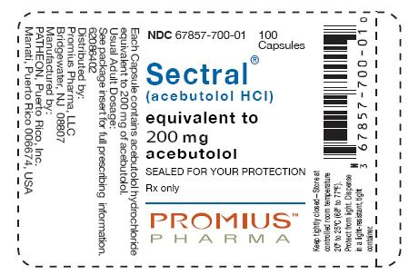 image of 200 mg package label
