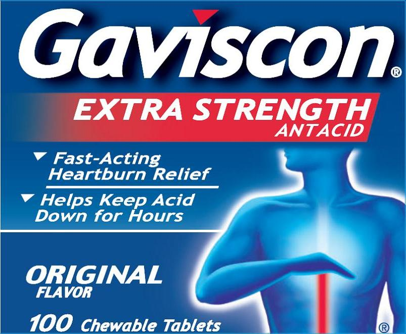 Gaviscon Extra Strength (Aluminum Hydroxide And Magnesium Carbonate) Tablet, Chewable Gaviscon Regular Strength (Aluminum Hydroxide And Magnesium Trisilicate) Tablet, Chewable [Glaxosmithkline Consumer Healthcare Lp]