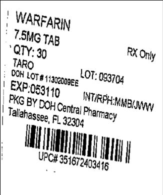 Label Image for 7.5mg