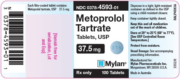Metoprolol Tartrate Tablet, Film Coated [Mylan Pharmaceuticals Inc.]