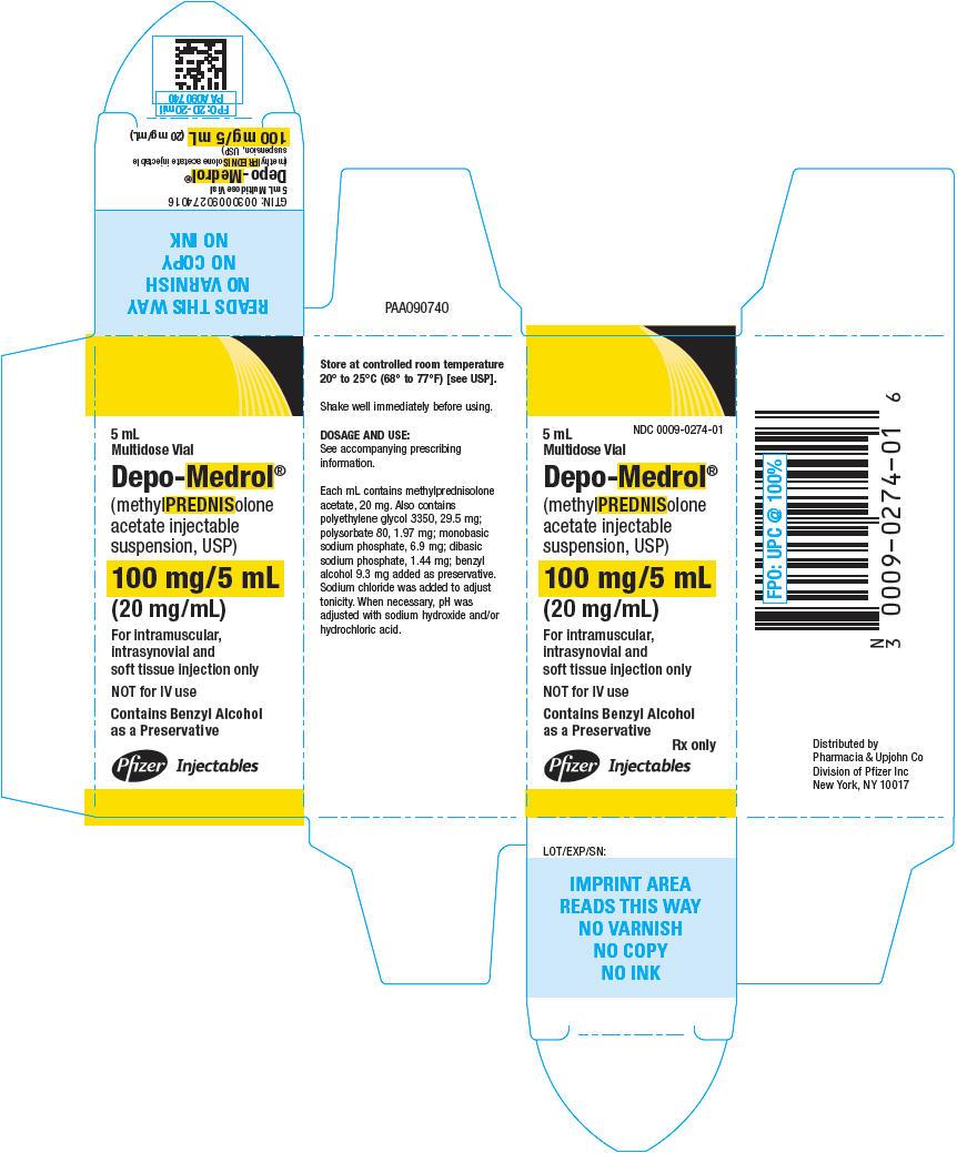 PRINCIPAL DISPLAY PANEL - 100 mg/5 mL Vial Carton