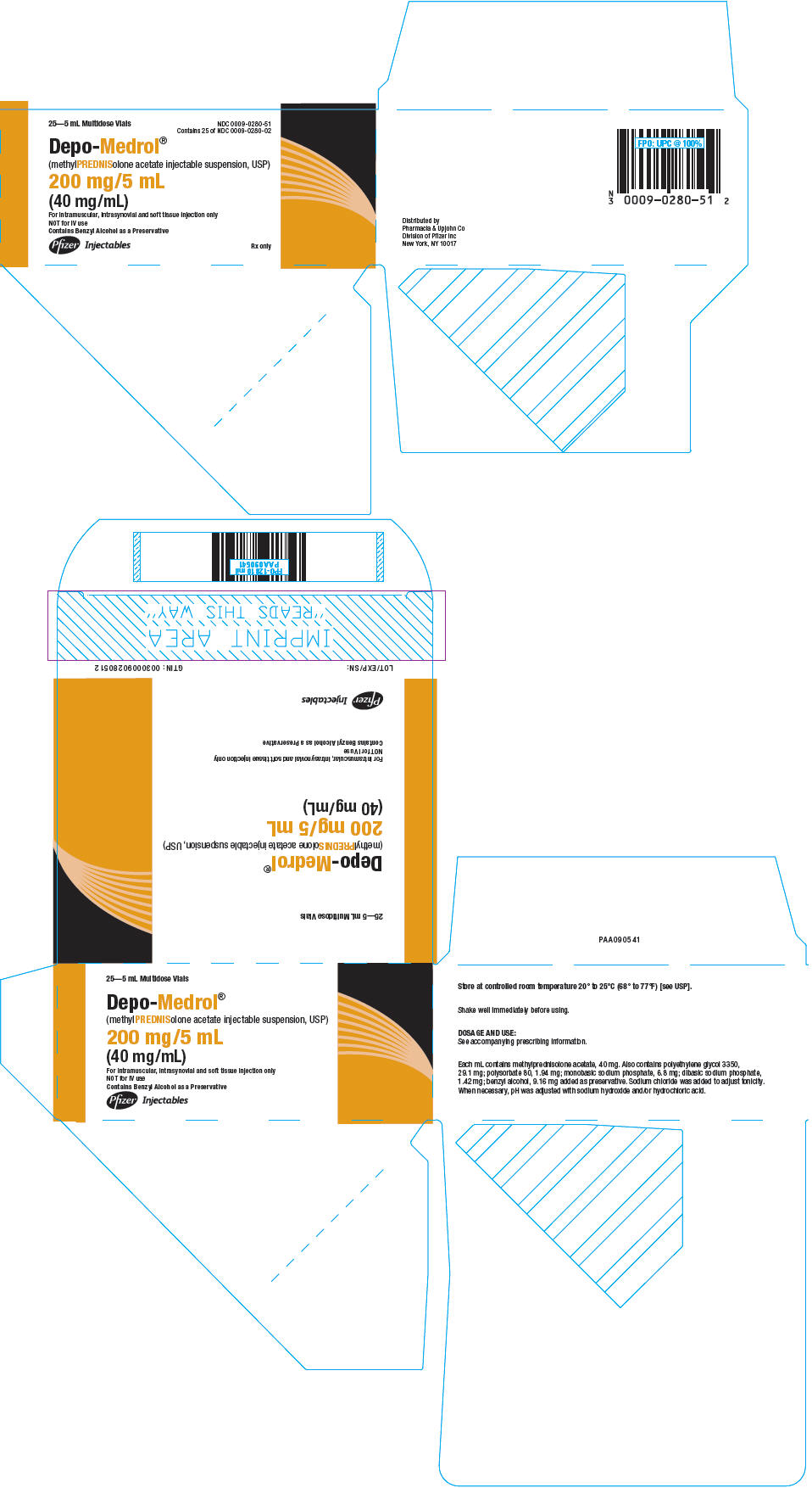 PRINCIPAL DISPLAY PANEL - 200 mg/5 mL Vial Package