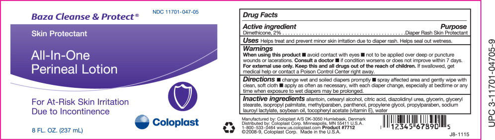 Baza Cleanse And Protect (Dimethicone) Lotion [Coloplast Manufacturing Us, Llc]