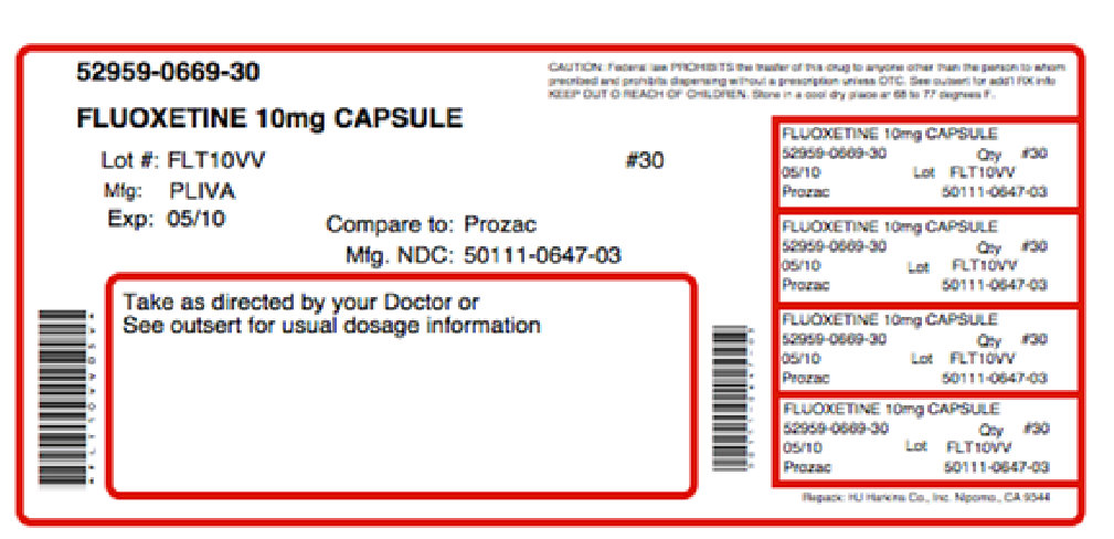 Sentroxatine (Fluoxetine Hydrochloride, Choline) Kit [Physician Therapeutics Llc]