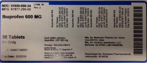 Ibuprofen Tablet [Northwind Pharmaceuticals, Llc]