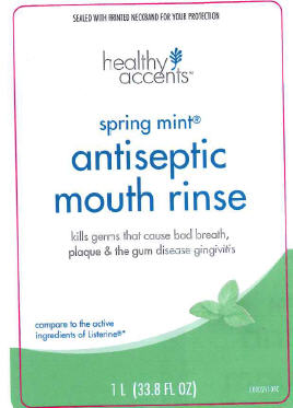 Antiseptic Mouth Rinse (Eucalyptol) Mouthwash [Dza Brands, Llc]