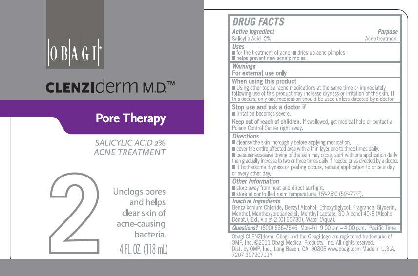 Clenziderm Pore Therapy Acne Treatment (Salicylic Acid) Liquid [Omp, Inc.]
