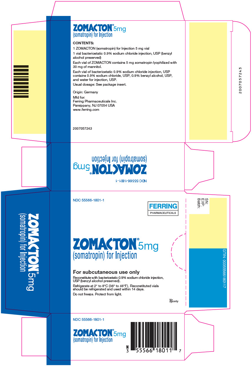 Zomacton (Somatropin) Kit [Ferring Pharmaceuticals Inc.]