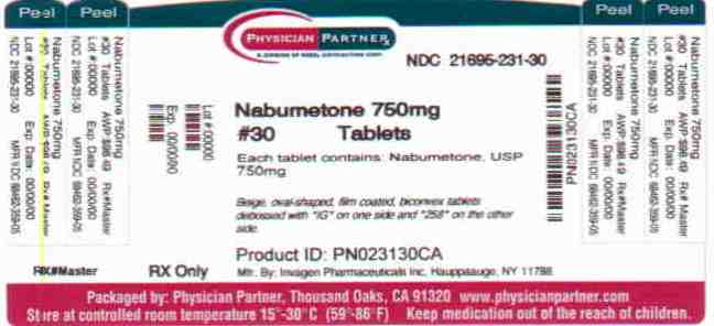 Nabumetone 750mg