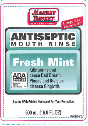 Antiseptic Mouth Rinse (Eucalyptol) Mouthwash [Demoulas Super Markets]