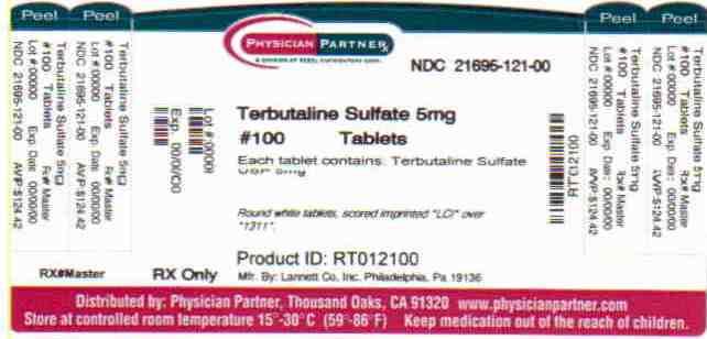 Terbutaline Sulphate 5 mg