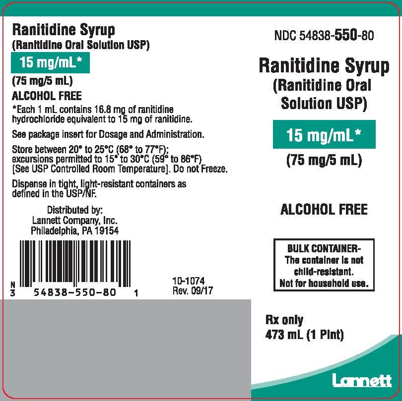 473 mL bottle label