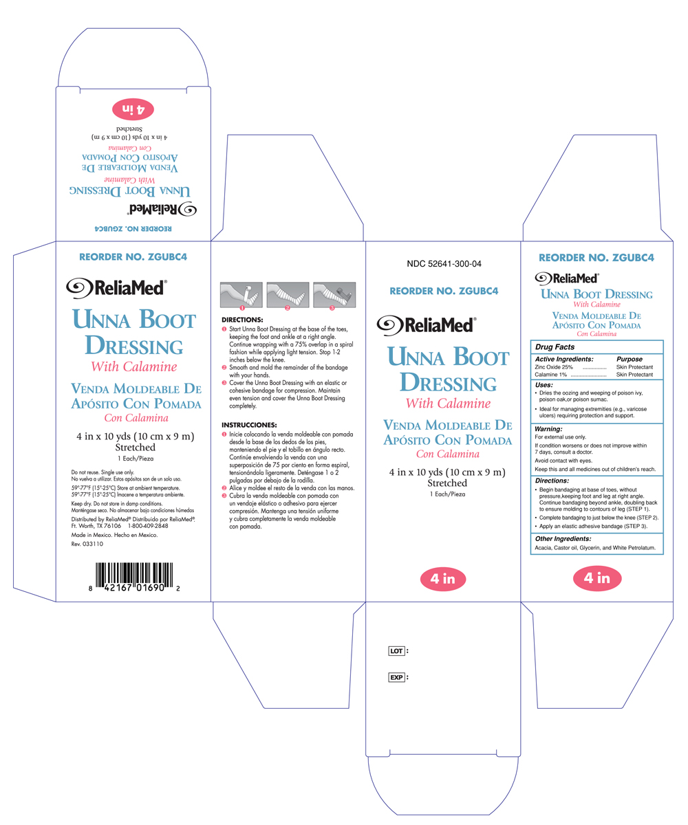 Reliamed Unna Boot 3 inches with Calamine ZGUBC4