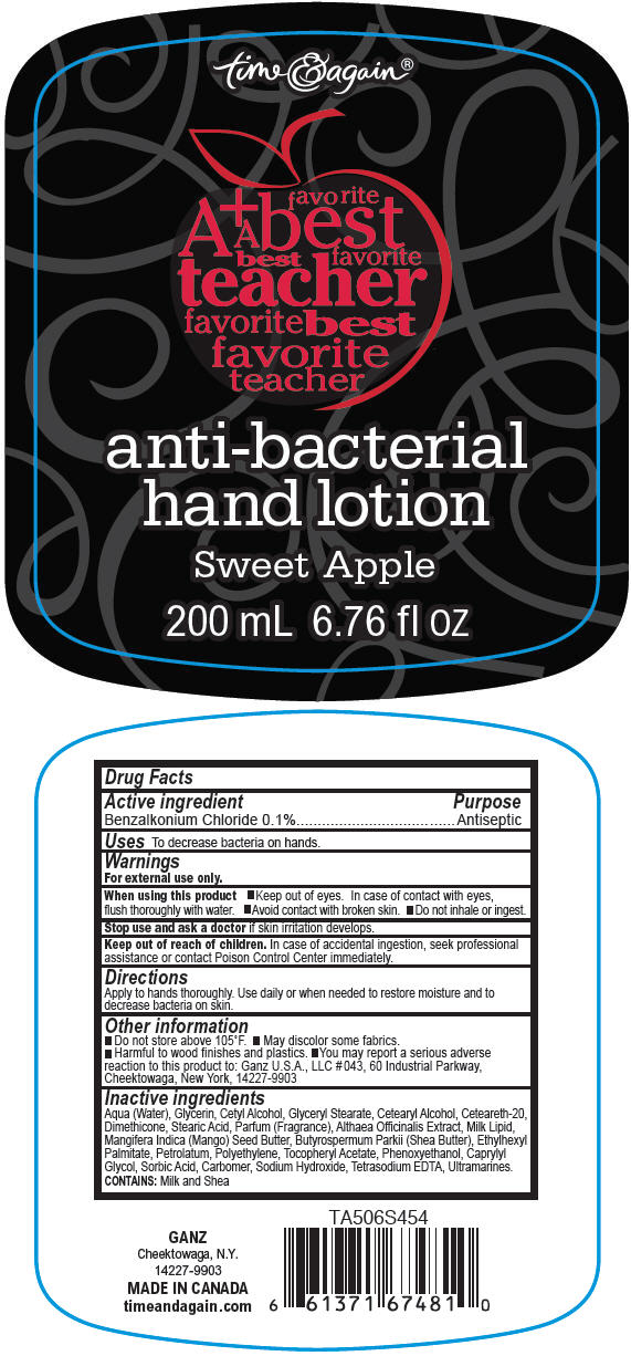 Principal Display Panel - 200 mL Sweet Apple Bottle Label