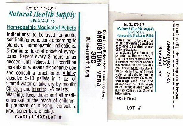 Rheumatism (Angostura Bark) Pellet [Natural Health Supply]