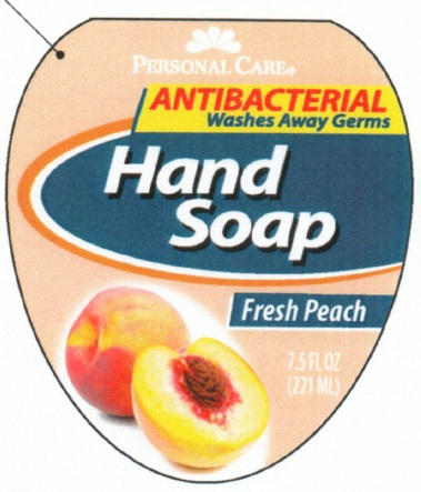 Personal Care Antibacterial Hand – Fresh Peach (Triclosan) Soap [Personal Care Products, Llc]