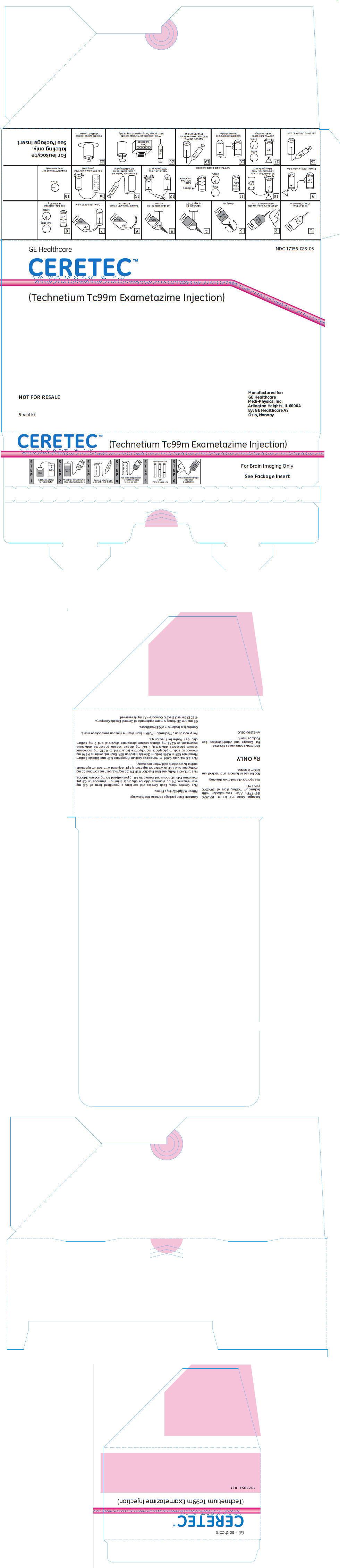 Ceretec (Exametazime) Kit [Medi-physics Inc.]