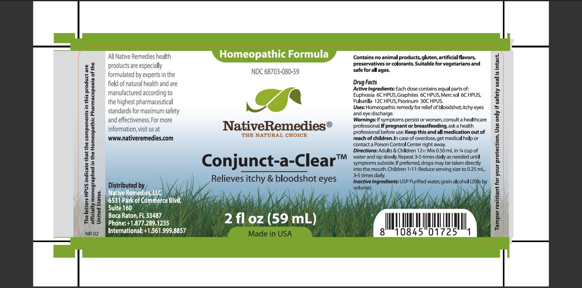 Conjunct-a-clear (Euphrasia, Graphites, Mer Sol, Pulsatilla, Psorinum) Tincture [Native Remedies, Llc]