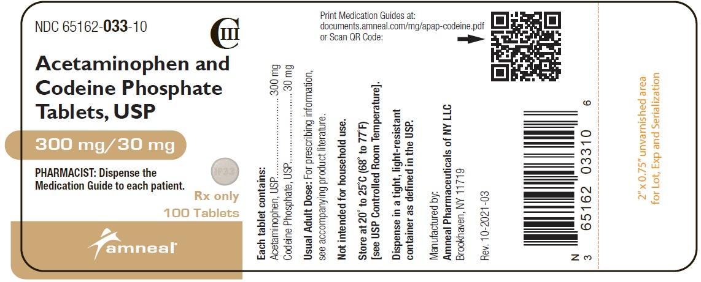 100 mg/30 mg Label