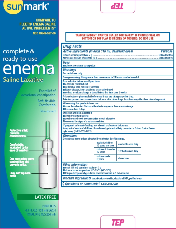 Saline Laxative (Sodium Phosphate) Enema [Mckesson]