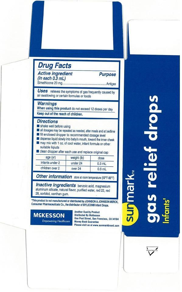 Sunmark Infants Gas Relief Drops (Simethicone ) Emulsion [Mckesson]