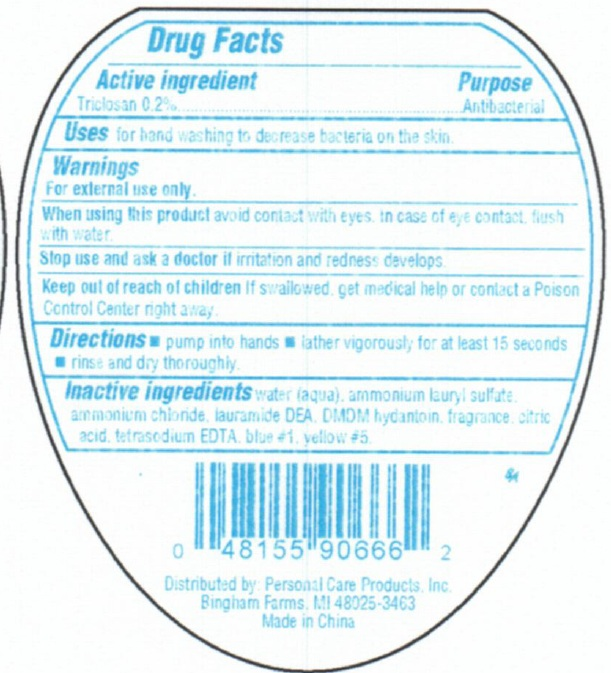 Personal Care Antibacterial Hand – Fresh Melon (Triclosan) Soap [Personal Care Products, Llc]