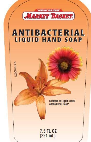 Handsoap (Triclosan) Liquid [Demoulas Super Markets, Inc]