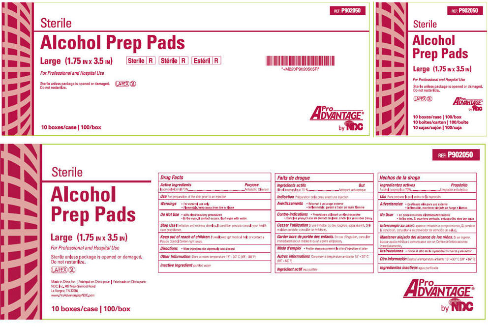 Alcohol Prep Pad (Isopropyl Alcohol) Swab [Ndc National Distribution & Contracting, Inc.]