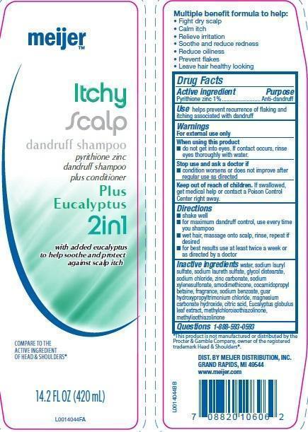 Itchy Scalp (Pyrithione Zinc) Shampoo [Meijer Distribution, Inc]