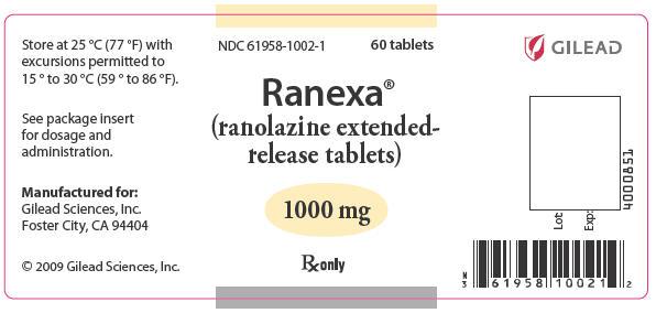 PRINCIPAL DISPLAY PANEL - 1000 mg Label