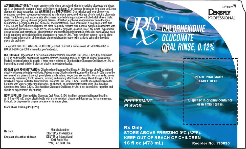 Oris Chx (Chlorhexidine Gluconate) Rinse [Dentsply Professional]