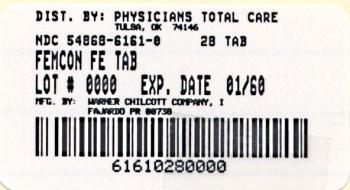 FEMCON Fe Label