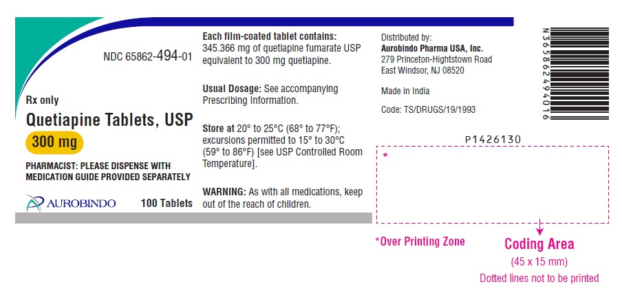 PACKAGE LABEL-PRINCIPAL DISPLAY PANEL - 300 mg (100 Tablets Bottle)