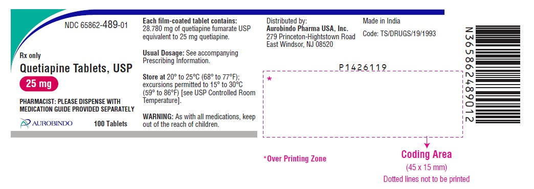 PACKAGE LABEL-PRINCIPAL DISPLAY PANEL - 25 mg (100 Tablets Bottle)