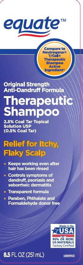 Therapeutic (Coal Tar) Shampoo [Wal-mart Stores, Inc]