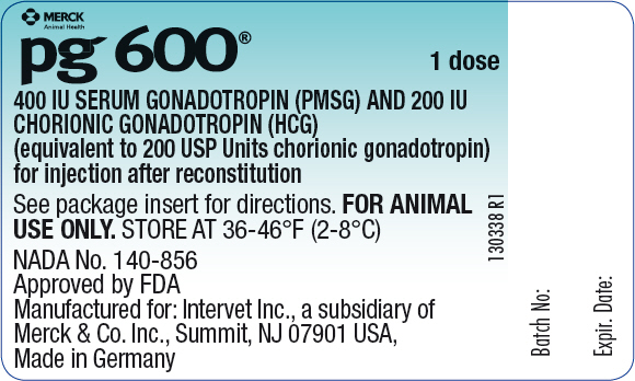 P.g. 600 (Gonadotrophin, Chorionic And Choriogonadotropin Alfa) Injection, Powder, Lyophilized, For Solution [Merck Sharp & Dohme Corp.]