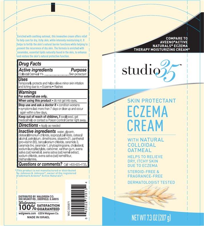 Studio35 Eczema (Colloidal Oatmeal) Cream [Walgreen Company]