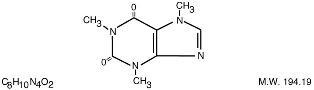 Caffeine Structure Image
