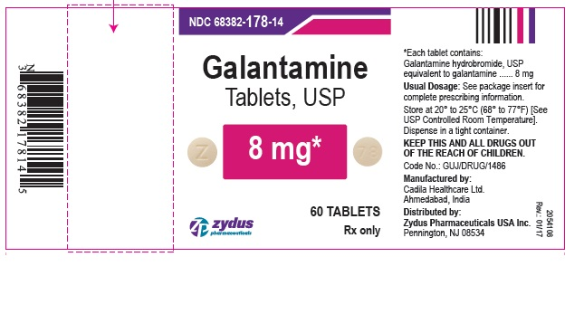 galantamine Tablets USP, 8mg