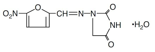 nitrofurantoin-monohydrate-structure