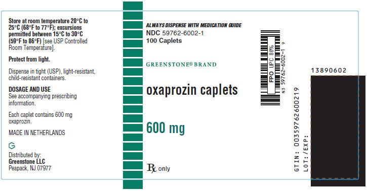 Oxaprozin Tablet, Film Coated [Greenstone Llc]